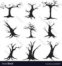halloween tree royalty free vector image vectorstock