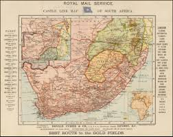 Gold Line Map Castle Line Map Of South Africa Best Route To The Gold
