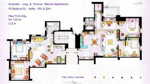 here now the floorplans to the apartments from friends curbed