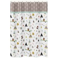 Kid Bathroom Shower Curtains Outdoor Adventure Shower Curtain Free Shipping On Orders