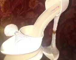 wedding shoes ivory ivory wedding shoes etsy