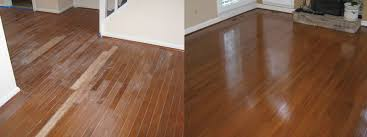 hardwood floor refinishing before after gallery buff coat