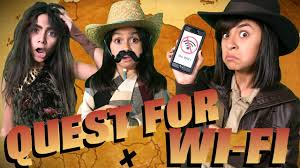 quest for wi fi sketch comedy gem sisters youtube