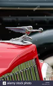 goddess of speed ornament on an 1937 packard 120 classic