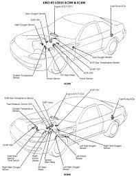 lexus sc300 egr valve diagramas diagramas lexus
