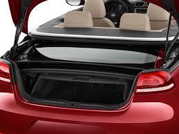 volkswagen convertible eos image 2016 volkswagen eos 2 door convertible komfort trunk size