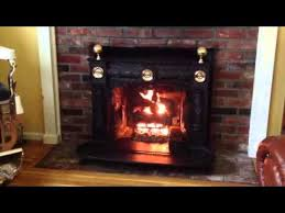 Franklin Fireplace Stove by Mayflower Franklin Stove With Gas Conversion Youtube