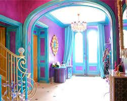chambre bleu et mauve article couleur association bleue et violet