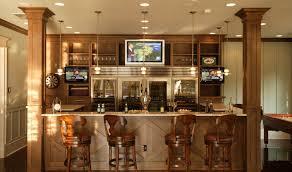 bar amazing basement kitchen and bar ideas home basement bar