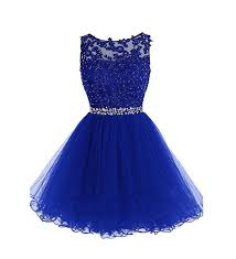 blue dresses drasawee tulle evening cocktail gowns prom dresses for