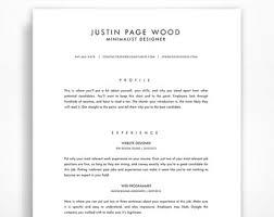 traditional resume template elegant resume classic resume