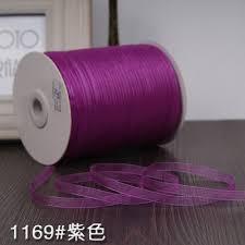 organza ribbon wholesale aliexpress buy 1 4 6mm organza ribbons wholesale 10