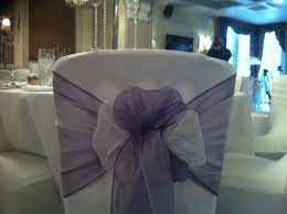 Wedding Chair Sashes Organza Sashes And Bows Hire For Wedding Chair Covers Laceys