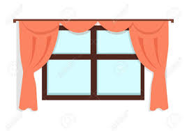 horse kitchen curtains window with curtains clipart transparent red curtains decor png