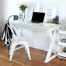 48 Computer Desk Xtra 48 Glass Computer Desk White Desks And Tables D48x30wh 3