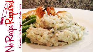 truffle mashed potatoes by noreciperequired com youtube