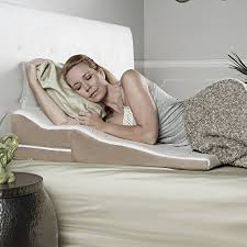 best bed wedge pillow top 5 best acid reflux wedge pillow side sleepers for sale 2017