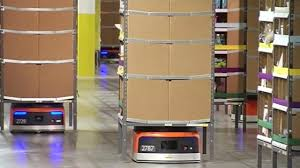 amazon black friday breach amazon employees get help from kiva robots on cyber monday at