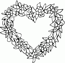 flowers coloring pages peace hearts coloring panda full size of