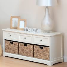 bench with storage drawers bench decoration