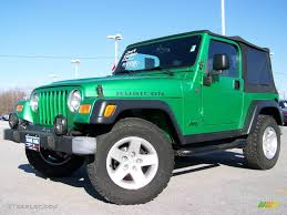 electric 4x4 2004 electric lime green pearl jeep wrangler rubicon 4x4 2974248