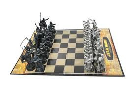 parker brothers star wars chess set saga edition shop goodwill