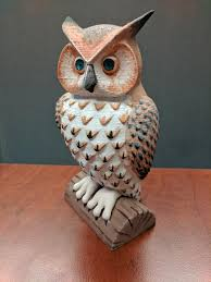 painted owl wood filament 3dprinting