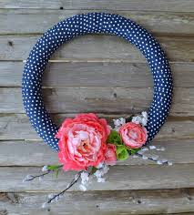 How To Make A Spring Wreath by Diy Simple Spring Wreath How To Make A Floral Wreath