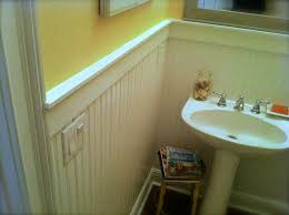 Bathroom With Wainscoting Ideas by How To Install Beadboard Wainscoting Like A Pro