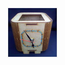 clock desk organizer crafy crafts