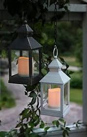 veranda cer usata vintage stile retr祺 a led senza fiamma candela lanterna quadrata