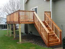 Wooden Stairs Design Outdoor Pre Made Outdoor Wooden Stairs Outdoor Designs