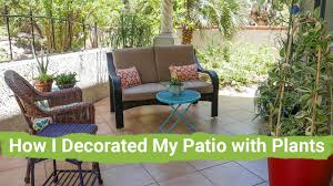 Room With Plants Take A Tour With Me How I Decorated My Patio With Plants Youtube