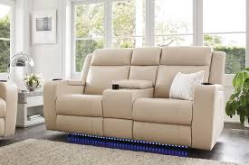 ivory leather reclining sofa marina 2 seater leather recliner sofa by synargy harvey norman new