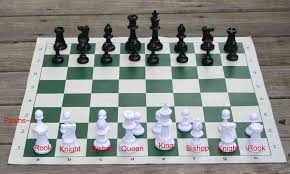 how to set up chess table chess table set up table setting ideas