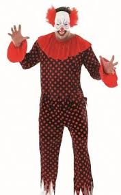 Evil Clown Halloween Costume Scary Clown Halloween Costume 3946 Size Fancy Dress