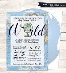 Welcome Home Baby Boy Decorations Blue Welcome To The World Baby Shower Invitation Printable