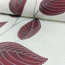 p u0026s international leaf pattern wallpaper modern floral motif 13386 20