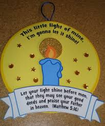 let your light shine sunday craft for kids inside ideas