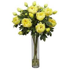 silk peonies arrangement best 25 peony arrangement ideas on