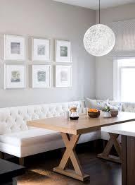 banquette cuisine moderne pourquoi choisir une table avec banquette pour la cuisine ou la