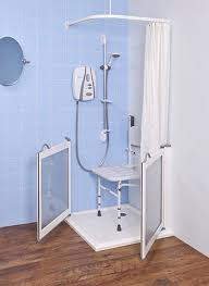 Disabled Half Height Shower Doors Wf2 Non Handed Half Height Doors Half Height Shower Doors For