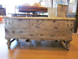 steamer trunk side table steamer trunk coffee tables have unique rustic designs large table