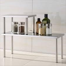 stainless steel kitchen corner shelf 14 image wall shelves stainless steel counter shelf storage kitchen