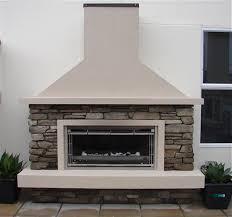 Eldorado Outdoor Fireplace by Outdoor Fireplaces Eldorado Stone Core Profiles Hard As Rocks