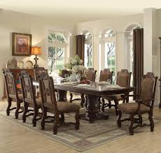 homelegance thurmont 9 piece double pedestal dining room set in