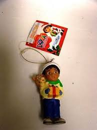 new the explorer ornament boy holding a gift ebay