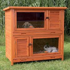Outdoor Rabbit Hutch Plans Trixie Natura Insulated Two Story Rabbit Hutch Petco