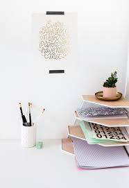 Wall Organiser Diy Balsa Wood Desk Organiser Tutorial Workspace Tidy Up Easy