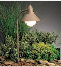 Kichler Outdoor Wall Sconce Seaside Landscape Lighting With Kichler 14 25 Inch 1 Light Outdoor